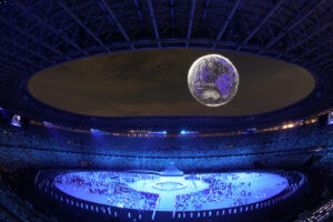 Show de drones olimpíadas 2021
